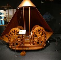 Leonardo da Vinci Char de Combat Florence Maquette