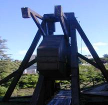 Militaria Moyen Age Trébuchet à Contrepoids (Chinon)