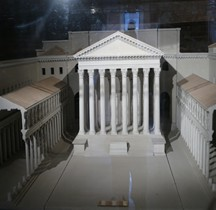 Rome Rione Campitelli Forums Impériaux 2 Forum Auguste Temple Mars Ultor Maquette
