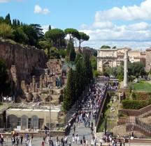 Rome Rione Campitello Palatin Horrea Severiani