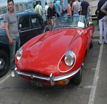 Jaguar Type E  Cabriolet Palavas 2014