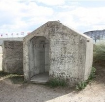 Einmmannschutzbunker ou Splitterschutzzellen (SSZ) Abri Anti Aerien Calvados Utah Beach