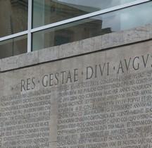Pouvoir Epigraphie Res Gestae Divi Augusti Ara Pacis Rome