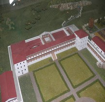 Saarland Perl Villa Romaine de Nenning Maquette
