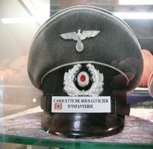 1940 Schirmmütze für Unteroffiziere Infanterie  St Laurent