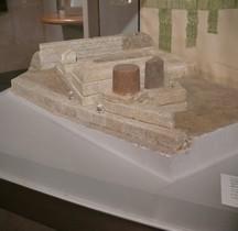 Rome Rione Campitelli Forum Romain Sanctuario Lapis Niger Maquette EUR