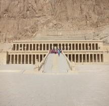 Egypte Deir el Bahari  Temple d'Hatshepsout
