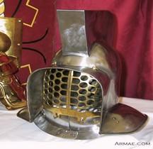 Gladiateur Mirmillon Casque IIe et IIIe siècle Ap JC