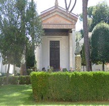 Religion Temple Etrusque reconstitution MEN Rome