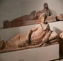 6 Etrusques Sarcophages