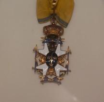 1748 Kungliga Svärdsorden Kommander Paris Musée Légion d'Honneur
