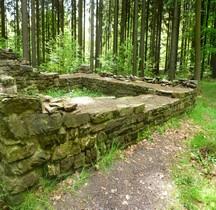 """1 Limes Germanicus Rheinland-Pfalz Limeswachturms Wp 1-43 """"Am Kieselweg"""" Neuwied"""