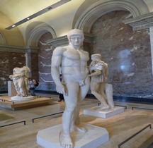 Statuaire Panthéon Ares Borghèse Paris Louvre