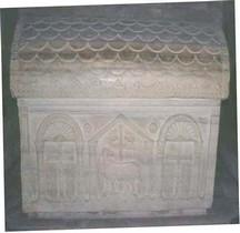 Ravenne Mausolée de Galla Placidia Sarcophage Valentinien III