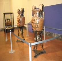 Grande Grèce Apulie Céramique Cratères Peintre de Darius Naples MAN