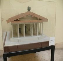 Rome Rione Campitelli Capitole Temple Maquette EUR