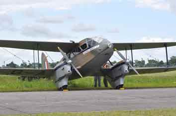 de Havilland DH 89 Dragon Rapide (Dominie) Hendon