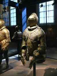 1588 Demi Armure Parement Christian I de Saxe Dres