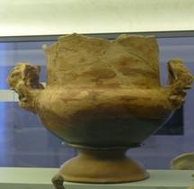 Etrurie Céramique Cratère Anses Lions Ferrare