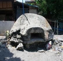 Philippines Mindanao General Santos   Plage Bunker