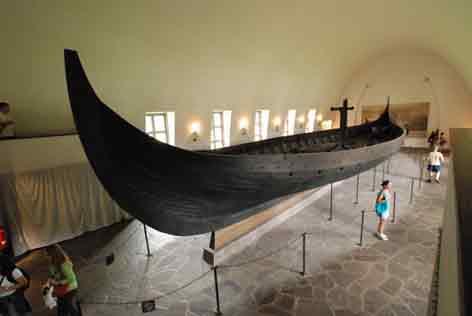 Moyen Age Drakkar Gokstad Oslo