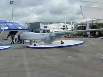 Drone Heron Eitan ( Bourget 2009)