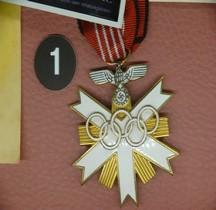 1936 Deutsche Olympia-Ehrenzeichen zweiter Klasse