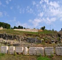 Epire Áktio Actium Monument Commémoratif de la Bataille