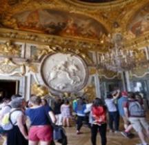 Yvelines Versailles Chateau Galerie des Glaces Salon de la Guerre
