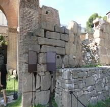 Rome Rione Campitelli Forum Romain Basilique Julia Edifice haut Médiéval