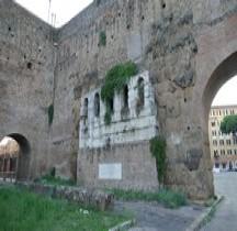Rome Mura del URBS Rome Mura Aureliane Rione Esquilino Porta Maggiore Porta Onoriana