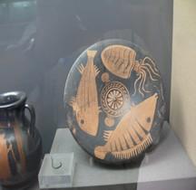 Grande Grèce Apulie Céramique Plat à Poissons Foggia Bruxelles