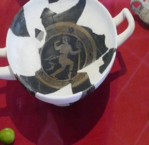 Grèce Attique Kylix Coupe au satyre Ensérune