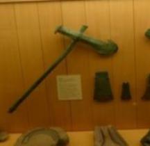 Age Bronze Ancien Hache Cuivre SGL MAN