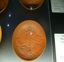 Céramique Coupe Damnatio ad Bestia Rome Palazzo Massimo