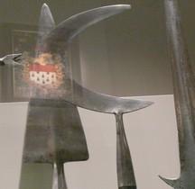 Arme Hast 1300 Demi lune Faux de Guerre