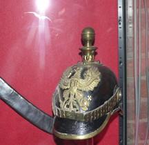 1870 Kugelhelm Prusse Artillerie Bruxelles