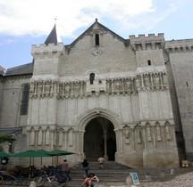 Maine et Loire  Candes St Martin Collégiale