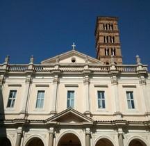 Rome Rione Ripa Basilica  Santi Bonifacio e  Alessio