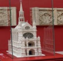 Paris la Ste Chapelle Maquette