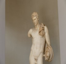 Statuaire Divinités Rome Hermes du Belvedere Museii Vaticani