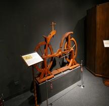 Leonardo da Vinci Bicyclette Florence Maquette