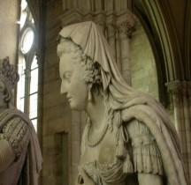 Seine St Denis St Denis Basilique 6.5.2 Marie Antoinette Statue