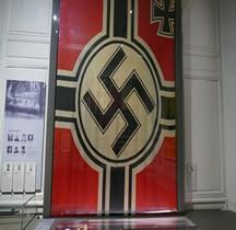 1938 Reichskriegsflagge  Hotel Meurice  1944 Paris