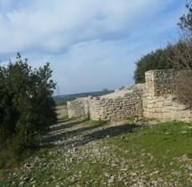Hérault Villetelle  Ambrussum Murailles