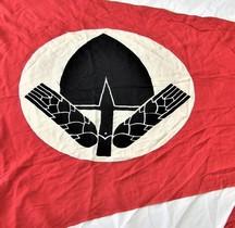 1935 Hausflagge des RAD mit Symbol