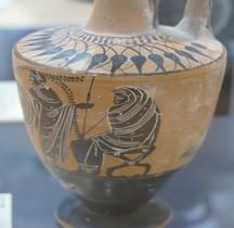 Grèce Lécythe Attique  Menton