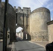 Maine et Loire Montreuil Bellay Enceinte