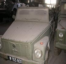 Volkswagen Typ 181 Kurierwagen Saumur