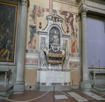 Florence Basilica di Santa Croce Interieur Tombe de Galileo